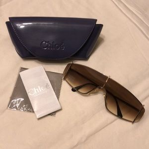 Chloé Sunglasses w/case